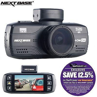 "Nextbase 512G Car Dashboard Video Camera 2.7"" 1080P HD DVR Cam Anti-Glare"