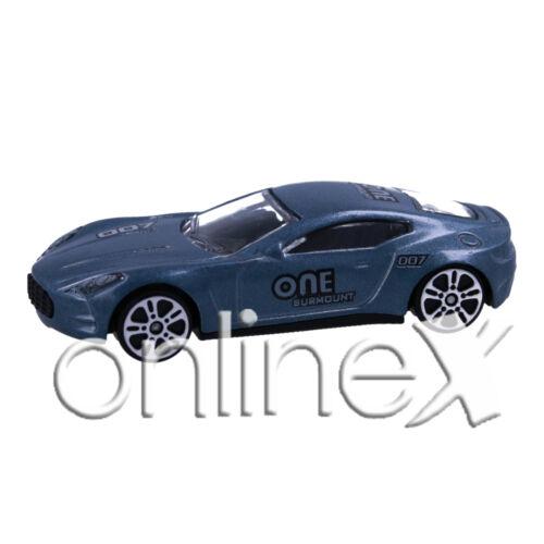 Coche Juguete Metálico A Escala Miniatura Colección Racing 1:64 a1781