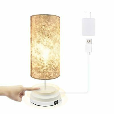 Touch Control Dimmable Table Lamp Bedside Desk Lamp Modern ...