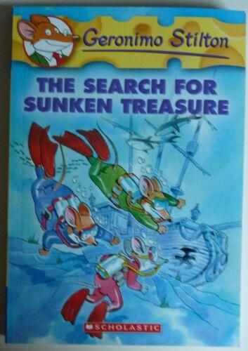1 of 1 - The Search for Sunken Treasure by Geronimo Stilton No: 25