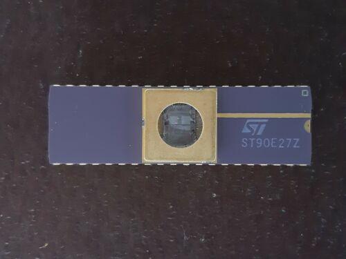 `1X CPU IC ST ST90E27Z   MILITARY VINTAGE CERAMIC CPU FOR GOLD SCRAP RECOVER
