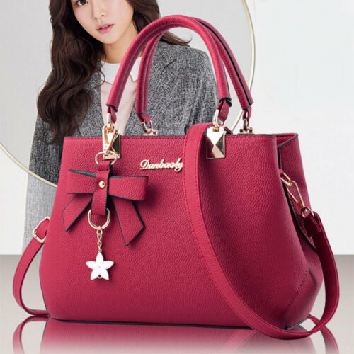 Women Handbag Shoulder Bag Tote Purse PU Leather Messenger Hobo Satchel 7 Colors