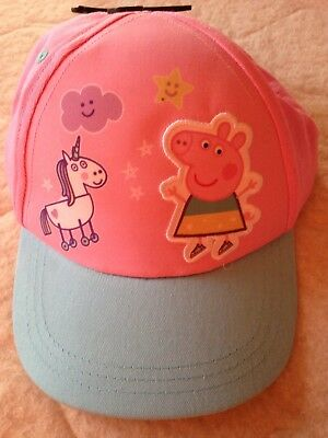 Dinamico Peppa Pig Cappello/berretto. Young Girl's Cappello, Taglia Unica. Nuovo Con Etichetta-mostra Il Titolo Originale Con Il Miglior Servizio