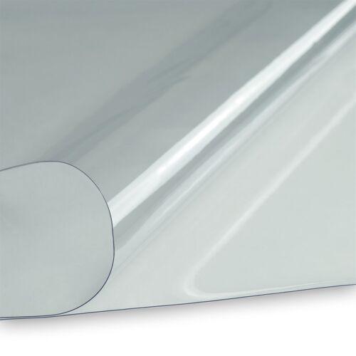 PVC Klarsichtfolie Fensterfolie Plane 0,3mm 140cm breit transparent durchsichtig