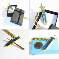 Legend Of Zelda Cosplay Removable Master Sword Necklace With Gift Box (us Ship)
