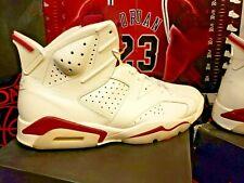 11b755f01da item 3 Size 13 Nike Air Jordan VI 6 Retro OFF WHITE MAROON INFRARED RED  384664-116 -Size 13 Nike Air Jordan VI 6 Retro OFF WHITE MAROON INFRARED  RED 384664- ...