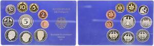 Kurssatz Bundesrepublik Deutschland 1987 d 1Pf. bis 5 DM PP 55866