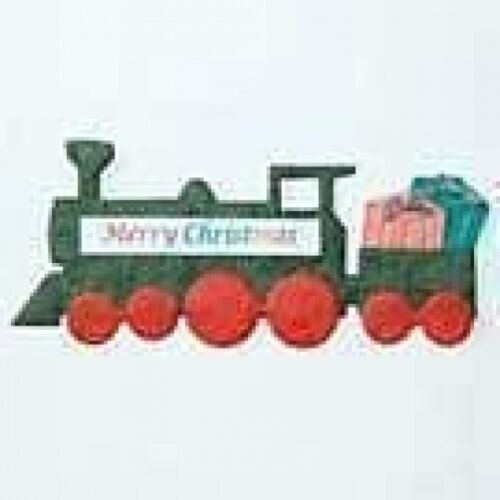 PK 3 HAPPY CHRISTMAS TRAINS FOR CARDS//CRAFTS