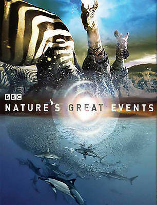 """""""AS NEW"""" One Natural History Unit Producers, Bbc, Bass, Karen, Nature's Great Ev"""