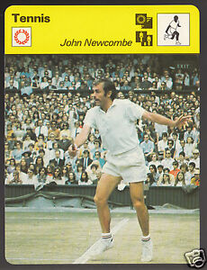 JOHN-NEWCOMBE-Australia-Tennis-Player-Photo-1979-SPORTSCASTER-CARD-48-15A