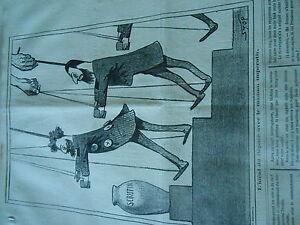 Capable Caricature 1871 - Politique Les Pantins L'idéal Du Député