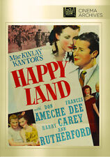 Happy Land 1943 (DVD) Don Ameche, Frances Dee, Harry Carey - New!