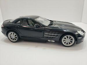 Diecast-1-18-Maisto-Mercedes-Benz-sola-Lente-Reflex-McLaren-Negro-falta-de-Radio-Control-Remoto