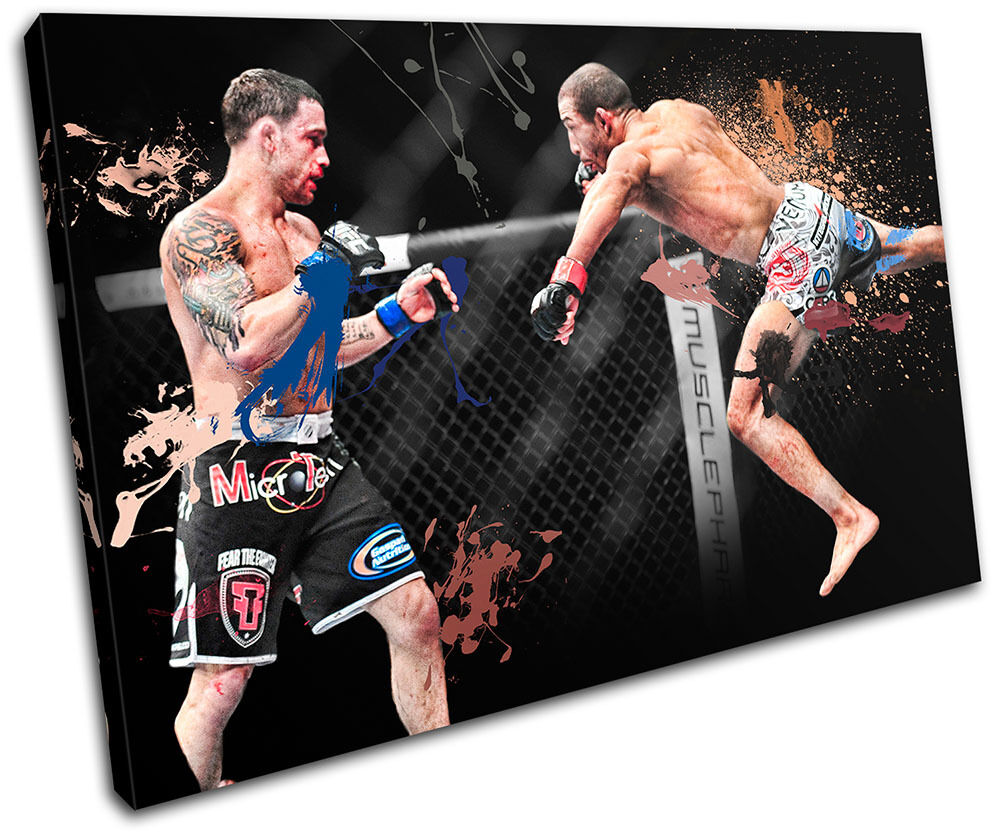 MMA Frankie Edgar  Sports SINGLE TOILE murale ART Photo Print