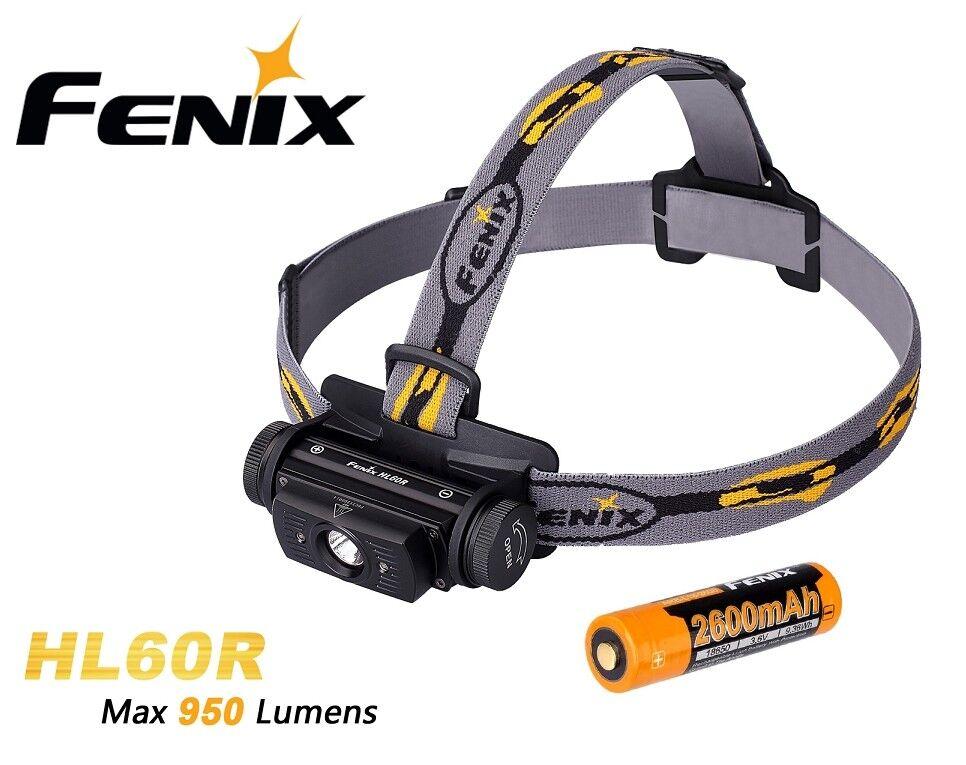 New Fenix  HL60R Cree XM-L2 T6 LED 950 Lumens LED Headlight Headlamp ( 18650 )  great offers
