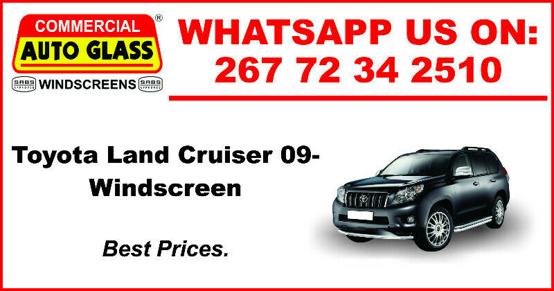 Windscreen For Toyota Land Cruiser 09 For Sale.
