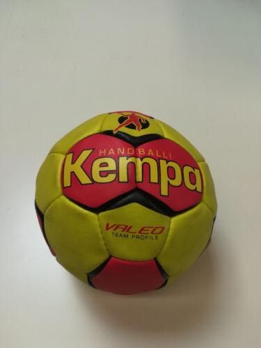 Fußball Uhlsport Kempa Handball Valeo Trainingsball Größe 3 Farbe rot/gelb