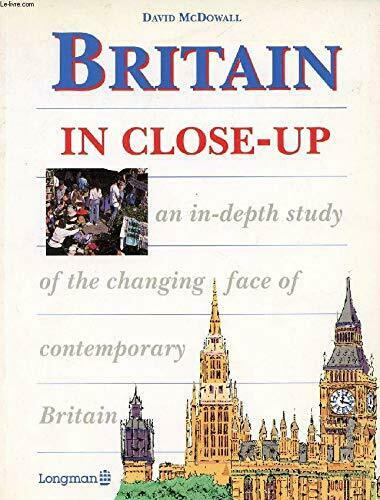 Britain Close-up (Longman Background Books) by McDowall, David Paperback Book