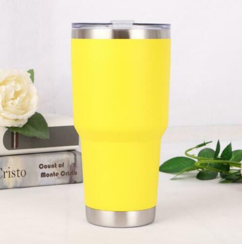 Stainless Steel Mug Cup Insulated Travel Double Wall Tumbler Coffee Tea Drinking