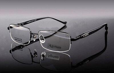 100% Pure Titanium Men Optical Eyeglasses Frame Myopia Glasses Spectacles Rx 910