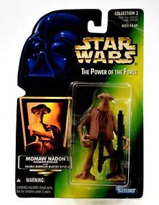 Star-Wars-Power-of-the-Force-Folie-Momaw-Nadon-034-Hammerhead-034-Action-Figur