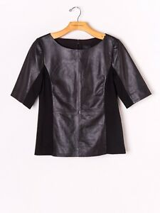 nwt-banana-republic-monogram-leather-top-blouse-4-shirt