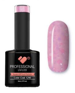 1290-VB-Line-Yogurt-Hot-Pink-Neon-Glitter-UV-LED-soak-off-gel-nail-polish