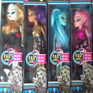 4Pcs-Hot-Selling-Monster-Toys-Dolls-High-Quality-Toy-For-Girls-Classic-Toys