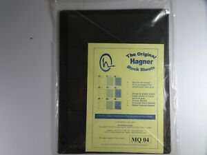 Hagner-Stock-Sheets-Single-Sided-4-Strip-Packet-of-10-Pages