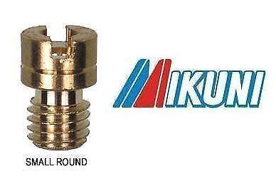 GENUINE MIKUNI N102.221 MAIN JET Size 95 Small Round Brass Slotted Head