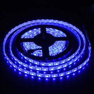 Blue-Boat-Accent-Light-Waterproof-LED-Lighting-Strip-300-5630-SMD-LEDs-16-ft-5M
