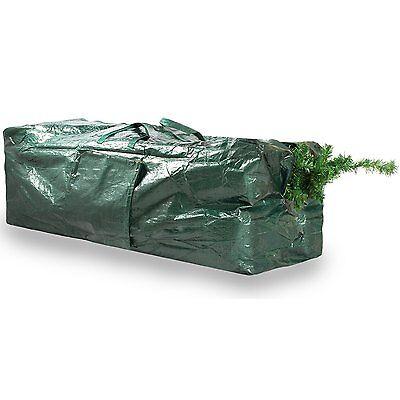 EX LARGE CHRISTMAS TREE BAG UP TO 9ft SACK STORAGE ZIP UP 120x48x33cm