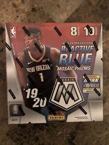 2019-20-Panini-Mosaic-Mega-Box-NBA-Prizm-Zion-Luka-Morant-Herro-LeBron-Silver