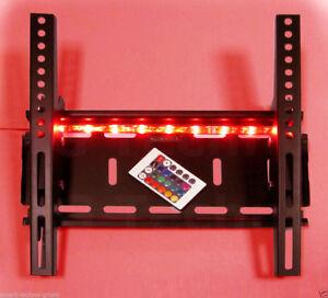 Wandhalterung-TV-Monitor-bis-55-034-Wandabstand-7-cm-Hintergrund-Beleuchtung
