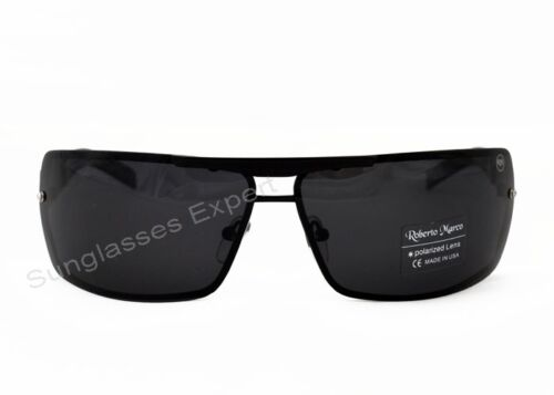 297e2affb8f 1 di 6 Roberto Marco Polarized Sunglasses for Drivers New Design Black  Metal Frame
