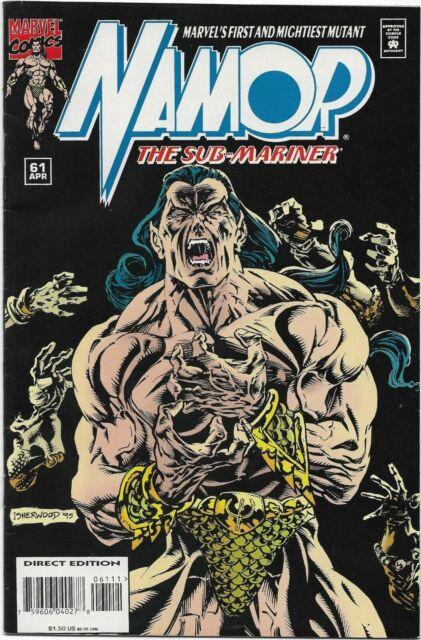Namor, The Sub-Mariner #61 - VF - Dichotomy of Souls