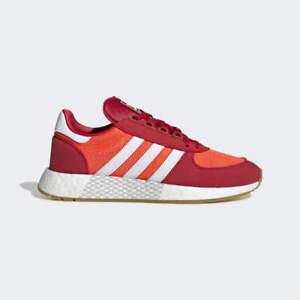 adidas-Marathon-Tech-BOOST-Size-8-Solar-Red-Orange-RRP-100-Brand-New-EE4919