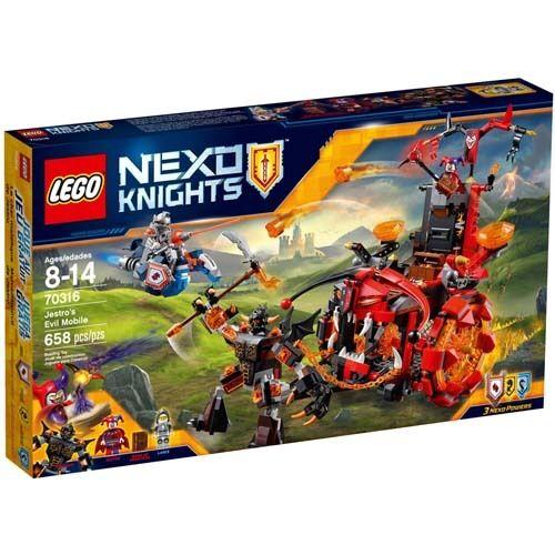 LEGO 70316 NEXO Knights Jestro's Evil Mobile