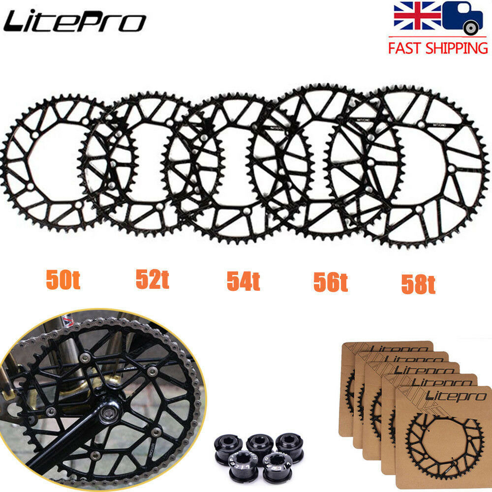 Bike Chainring 50 52 54 56 58T BCD130mm Narrow Wide  Single Hollow Chainwheel  selling well all over the world