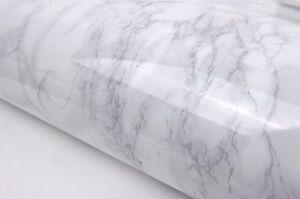 2m-White-Granite-Look-Marble-Effect-Counter-Top-Film-Vinyl-Self-Adhesive