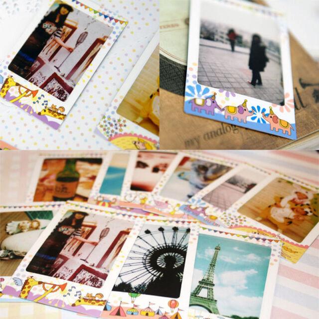 10x Circus Film Polaroid Masking Craft Photo Decoration Sticker Tape Paper hN