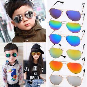 f60c9786dd Kids Baby Boys Girls Children Fashion UV Protection Goggles Eyewear ...