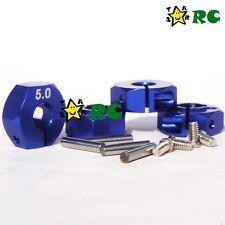 New 5mm Aluminum alloy Wheel Hub Clamp Type Fit 1/10 RC Car Hex 12mm Wheels Rims