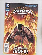 DC Comics! Batman & Robin! The New 52! Issue 1!