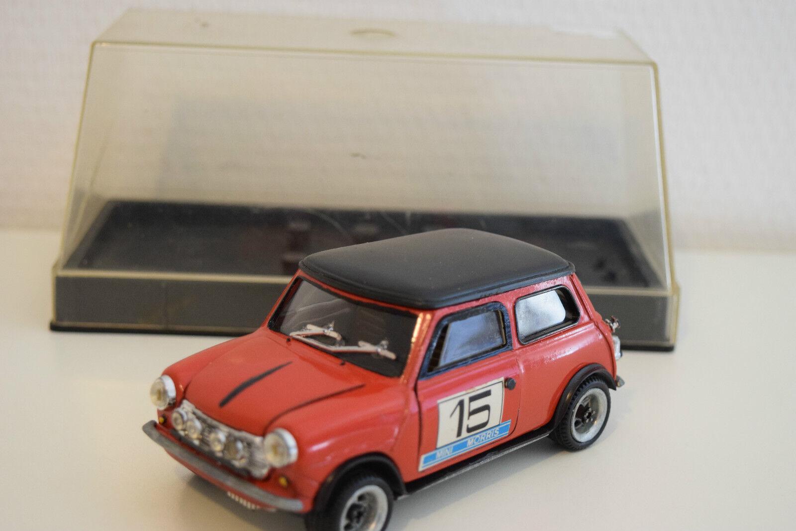 Nacoral mini cooper - rallye in mint boxte rot - selten selten ( 5 de