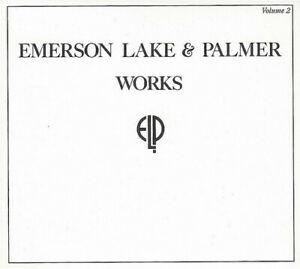 Emerson-Lake-amp-Palmer-Works-Volume-2-New-CD-UK-Import