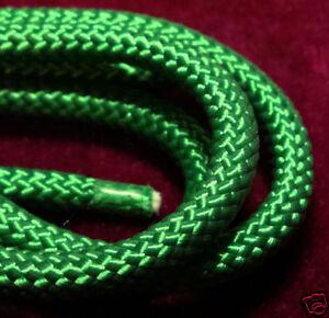 """Bolo Cord 36"""" BRIGHT GREEN (pkg 12) 0814 Plasticized Tips"""