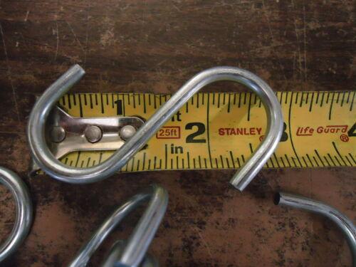"100 Standard S Hooks 2 3//4/"" Anodized Steel S-hooks Tarp Strap Replacement USA"