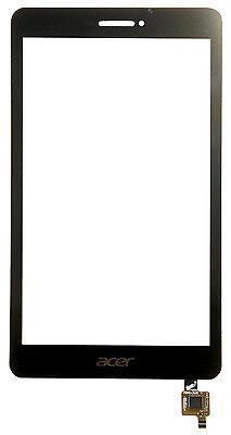 100% Vero Per Acer Iconia Talk S A1-734 Touch Screen Digitizer Vetro Di Ricambio Nero- Regalo Ideale Per Tutte Le Occasioni