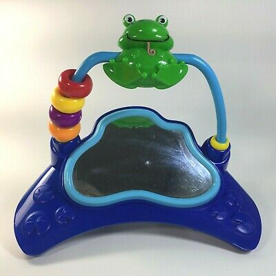 Baby Einstein Musical Motion Activity Jumper Spinner//Mirror Frog Toy Replacement